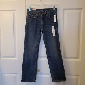 NWT Boys Old Navy straight jeans